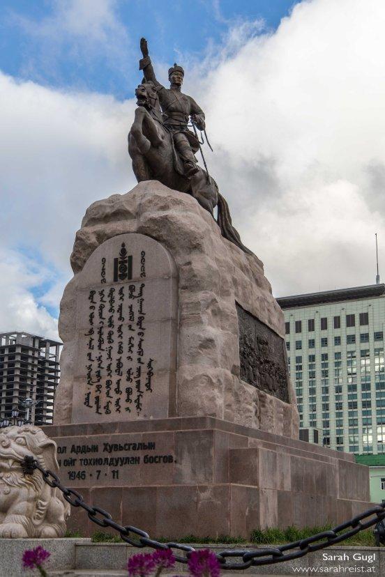 Sükhbaatar-Statue