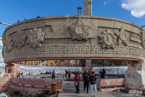 Und nochmals das Monument, dieses Mal von der anderen Seite.