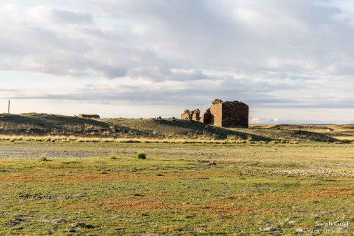 Ruinen eines alten Theaters